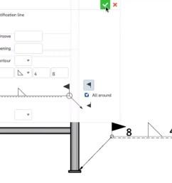 top 3 onshape updates weld symbols dimension hidden lines bend notes [ 1861 x 1047 Pixel ]