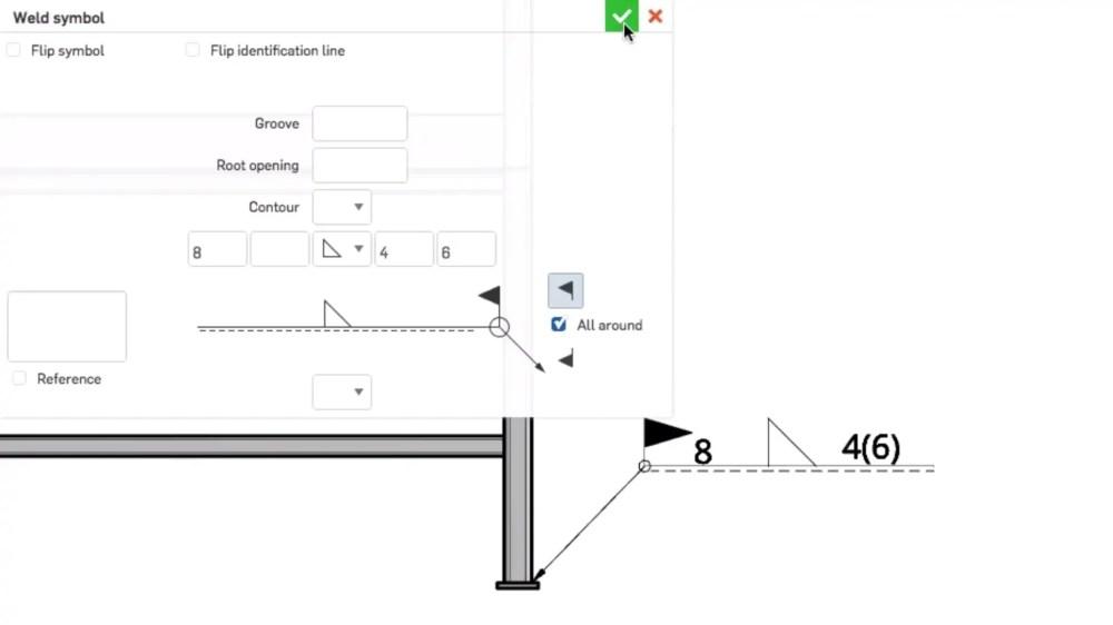 medium resolution of top 3 onshape updates weld symbols dimension hidden lines bend notes
