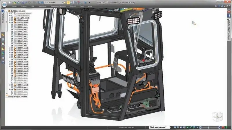 Smart model improvements and use of configurations can improve large assembly performance.