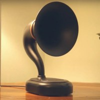 The Amazon Echo Dot Gets an Old School Makeover as a 3D Printed Gramophone
