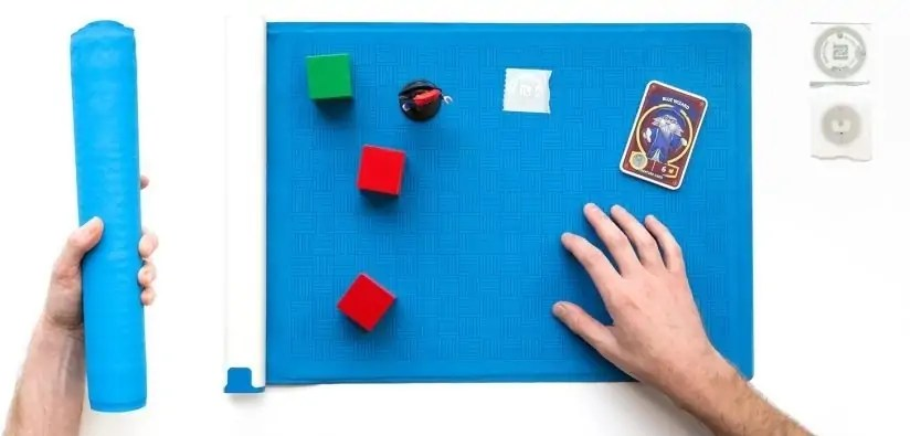 Project Zanzibar: A Portable and Flexible Tangible Interaction Platform