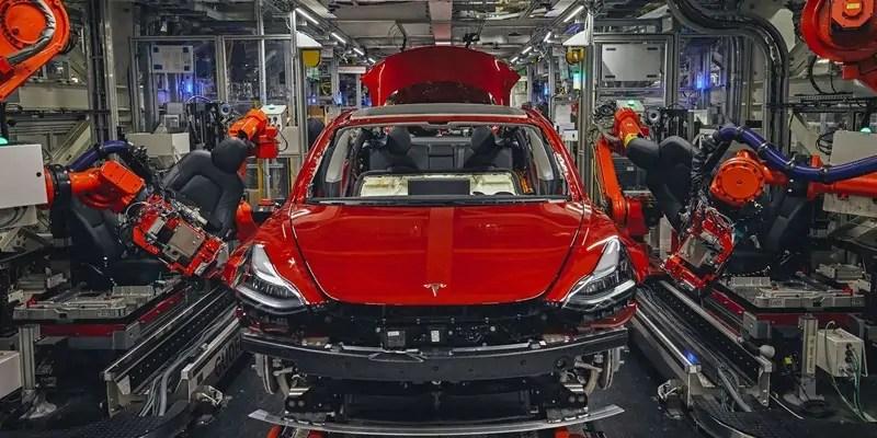 Inside Tesla's Model 3 Factory