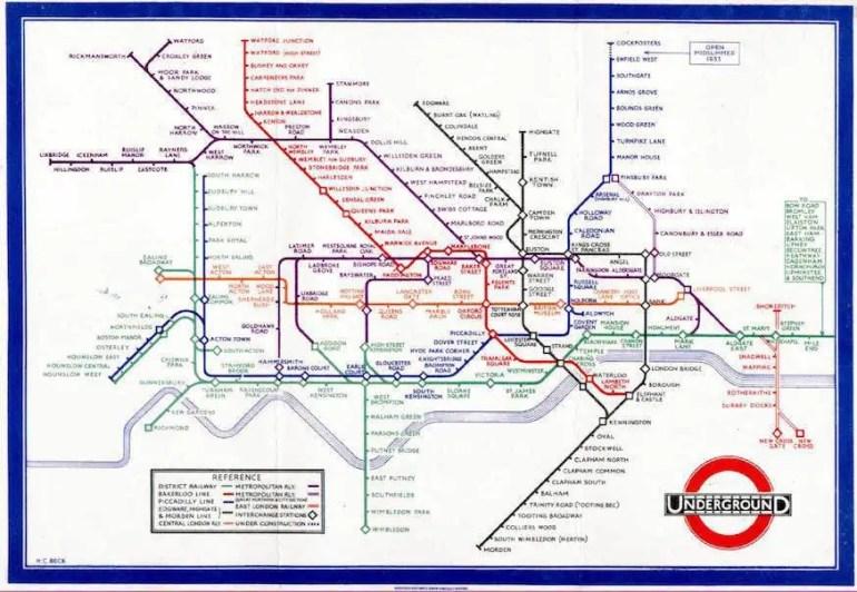 London Underground Railway System Design