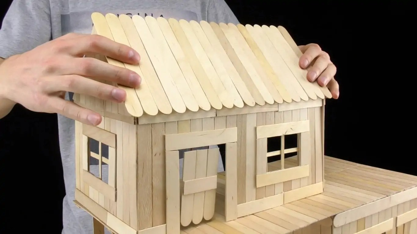 This 600 Piece Home Model Was Made For One Lucky Pet Rat