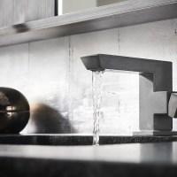 Brizo's Vettis Concrete Faucet is a Brutalist-Inspired Piece of Brilliance