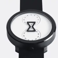 The Nu:Ro Is an Analog Watch Which Tells Time Through a Minimalist Hourglass