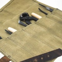 Cool Tools of Doom: The Hide & Drink Waterproof Waxed Canvas Tool Roll