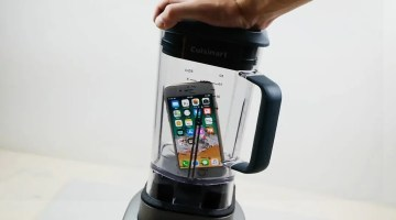 Will It Blend?: YouTube Channel Tests the Durability of Gadgets in a High-Speed Blender