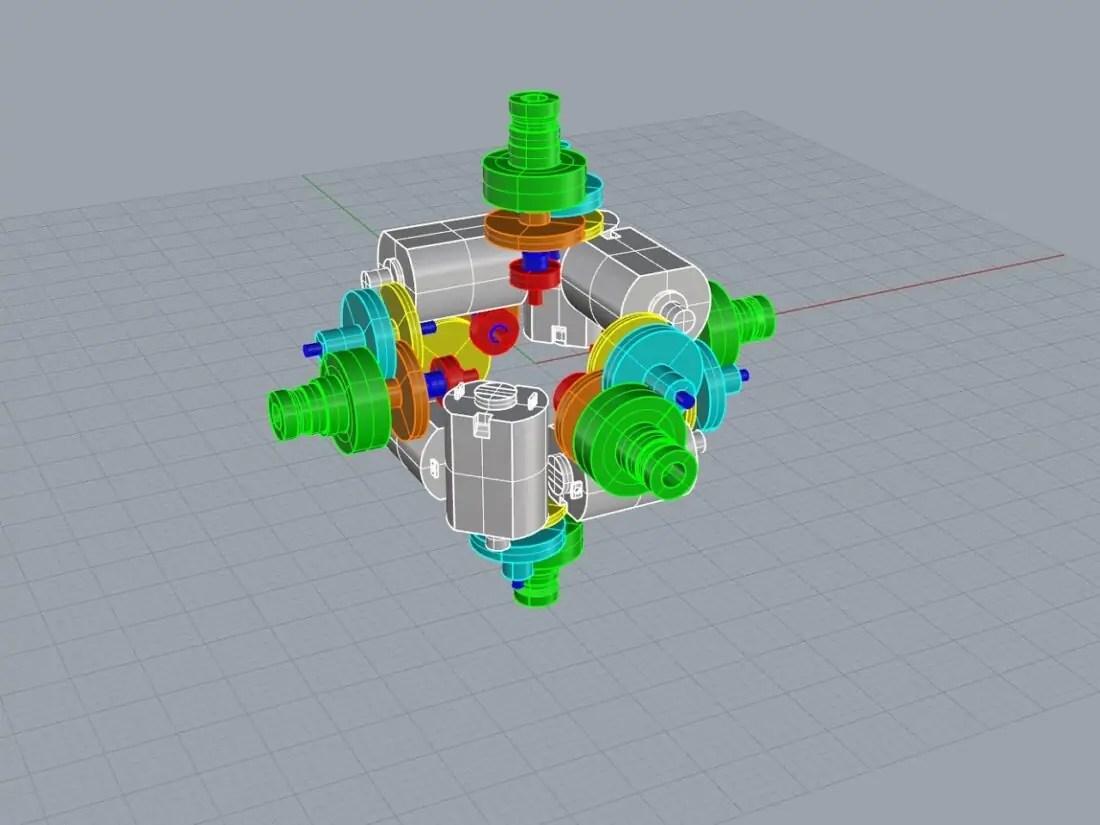 hight resolution of self solving rubik s cube