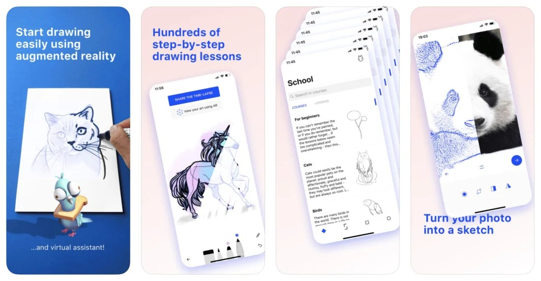SketchAR: Best Augmented Reality Apps for Android 2021