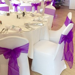 Chair Cover And Sash Hire Birmingham Hanging Stand Outdoor Wedding Covers In Loughborough Leicester Sashes