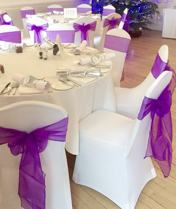 chair cover hire in birmingham skirted parsons chairs wedding covers loughborough leicester sashes