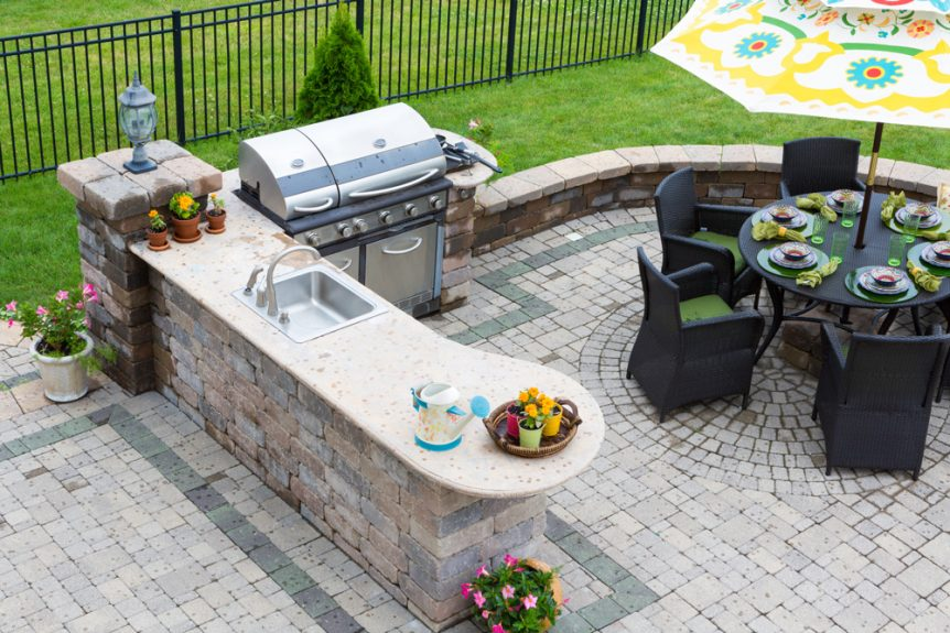 outdoor kitchens orlando kitchen countertop material top trends for in solidwheel com