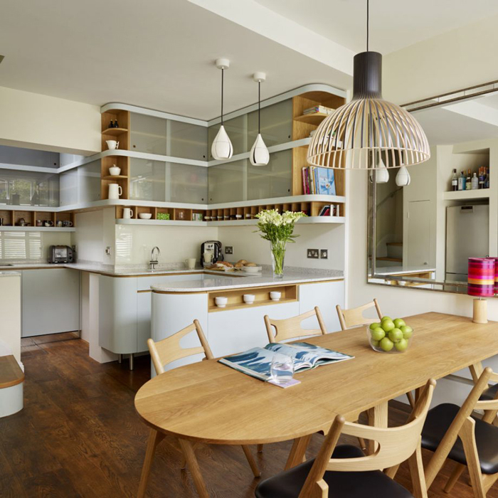 10 Of The Best Small Open Plan Kitchen Ideas Solid Wood Kitchen Cabinets Blog