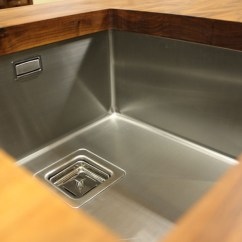 Kitchen Sink Undermount Stainless Steel Cabinet How To Choose Sinks And Taps For Solid Oak Kitchens Part 1 ...