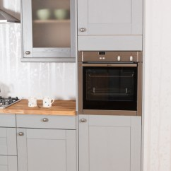 Kitchen Base Cabinet Dimensions Ikea Cart A Guide To Appliance Housing Cabinets For Oak Kitchens ...
