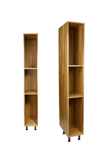 Tall Kitchen Larder Units  Storage Cabinets  Solid Wood