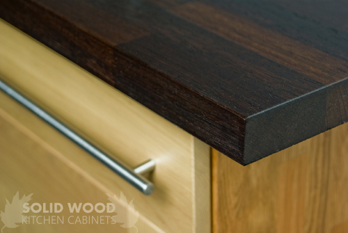 unique kitchen cabinets mosaic how to fit a worktop on solid oak - ...