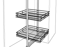 Kitchen Wirework & Pull Out Wire Baskets For Cupboards
