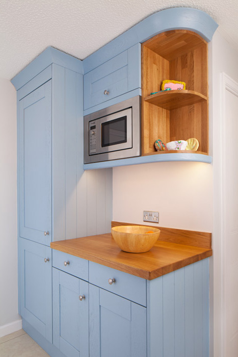 Wooden Kitchen Appliance Housing Cabinets  Solid Wood