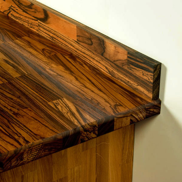 How to Choose and Install Solid Wood Upstands and Plinths