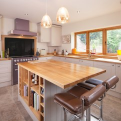 Kitchen Islands Uk Metal Cabinets Island Ideas For Solid Wood Kitchens From