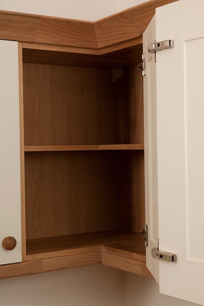 kitchen cabinet storage solutions american standard sinks corner cabinets - solid wood