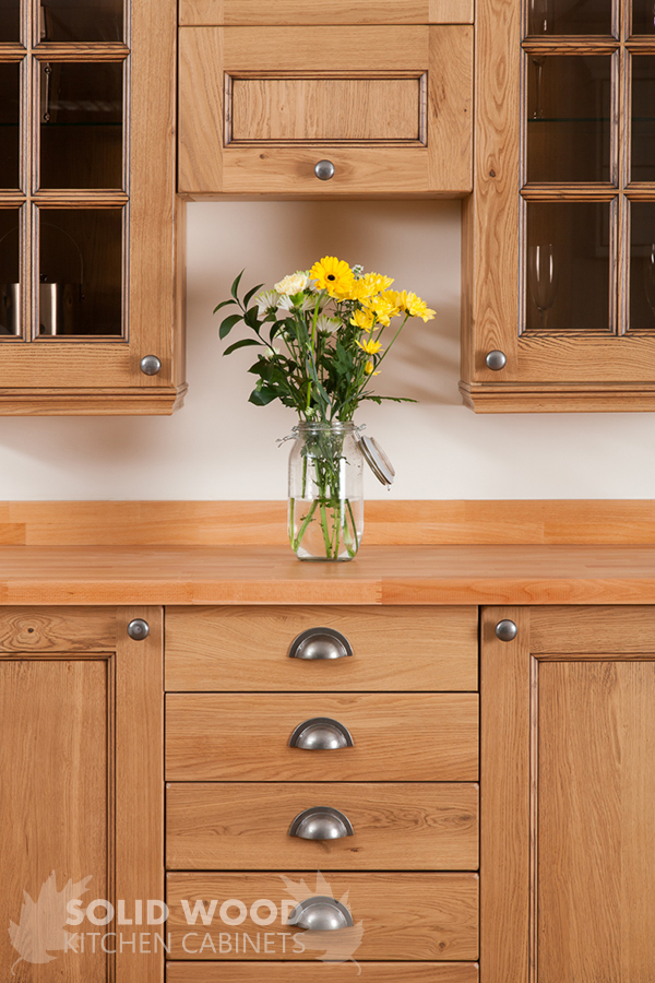 Solid Wood Kitchen Cabinets  Image Gallery