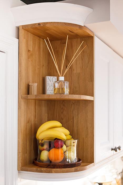 Design Inspiration Open units for oak kitchens  Solid