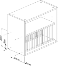 Plate Rack (H)342mm Assembly Instructions - Solid Wood ...