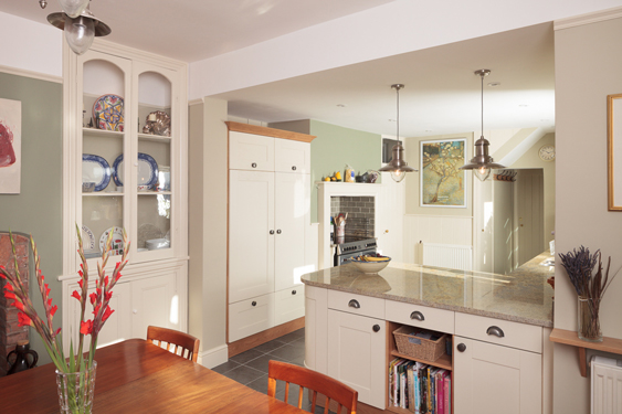 solid wood kitchen island cheap backsplash tile a guide to open plan and broken layout ideas ...