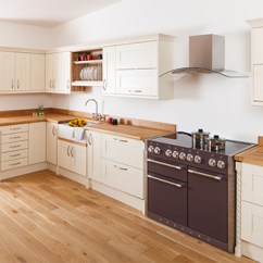 Kitchen Showrooms Renovation Financing Oak Kitchens Showroom Solid Wood Cabinet In England View