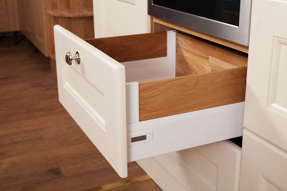 Solid Oak Wood Kitchen Drawers