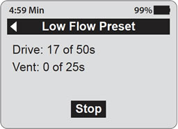 464 ECU User Guide: 2.4 Preset Flow Rates