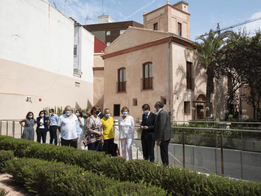 Restauración de l'Alquería Julià, un edificio y jardín histórico que vuelven a la vida.