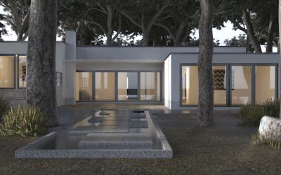 Servicios de diseño paisajístico: representación gráfica 2D y 3D