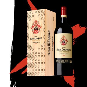 Chateau Fleur CARDINALE - Edition Hard-Rock The 2018 Will Rock You Hard