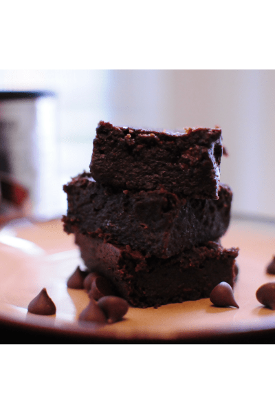 Vegan Fudgy Chocolate Black Bean Brownies
