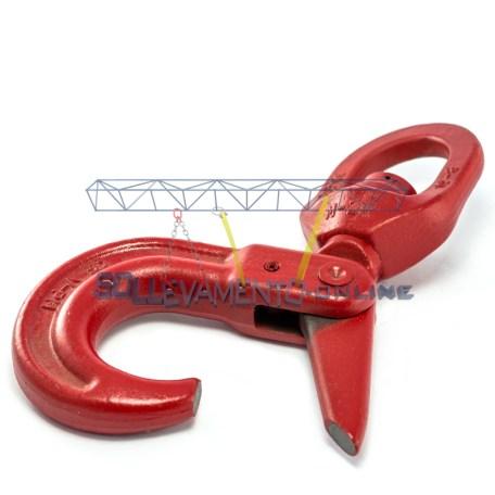 ganci self-locking-girevole con cuscinetto-3