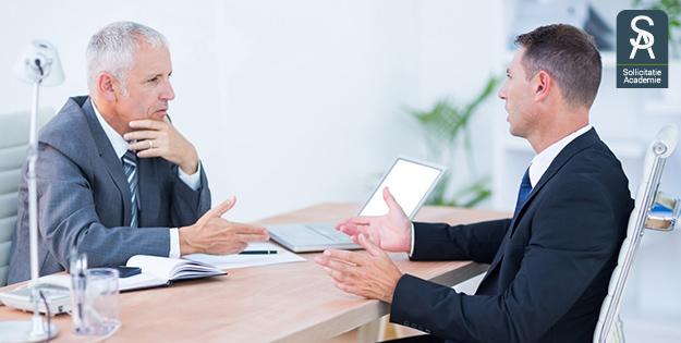 Sollicitatiegesprekken voeren