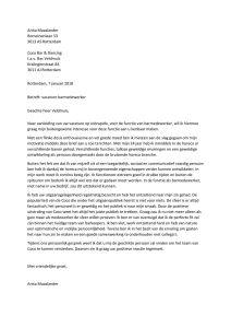 motivatiebrief barmedewerker Sollicitatiebrief Barmedewerker   Sollicitatiebijbel.nl