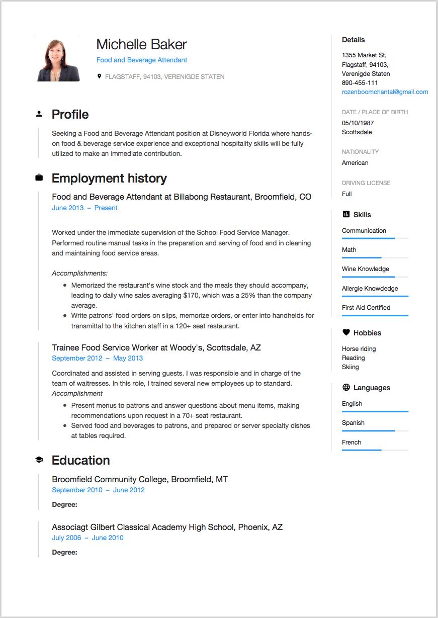 Gratis CV Downloaden  6 templates beschikbaar