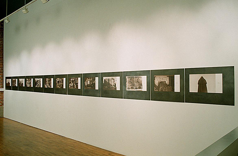 Selenium-toned photos on steel.