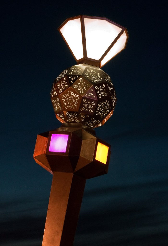 Sentinel (night detail)