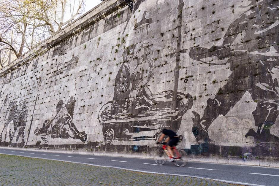 William Kentridge/Rome Mural