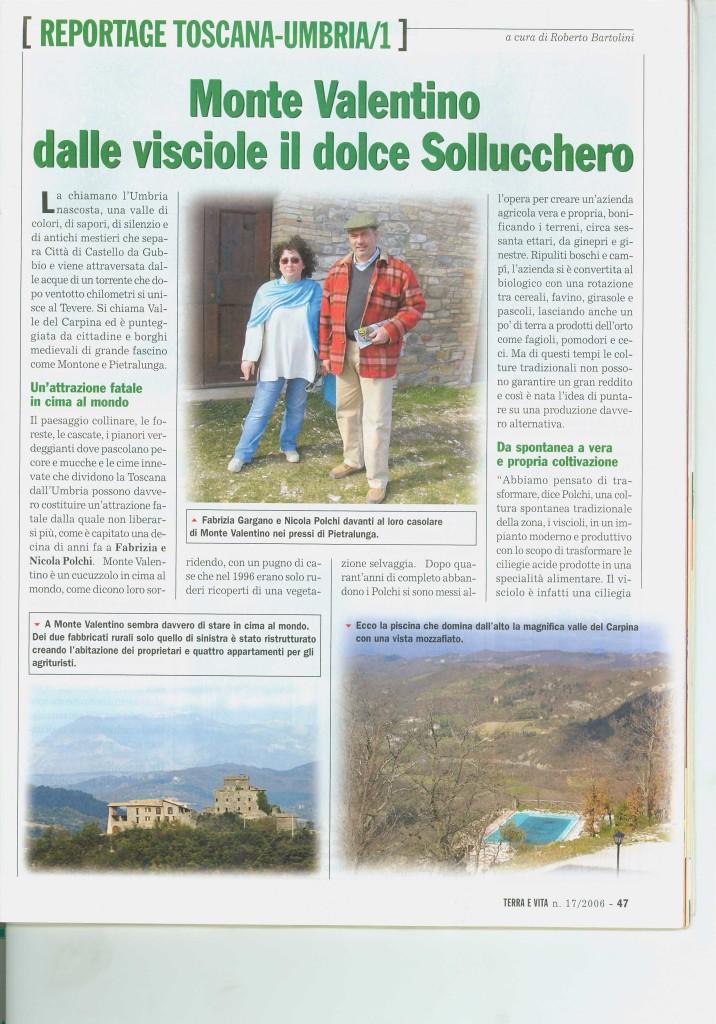 REPORTAGE TOSCANA - UMBRIA 1 PAGINA 1