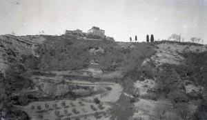 La collina di Monte Valentino nel '900