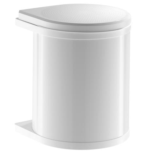 kitchen cabinet hardware hinges tabletops hailo under sink waste bin mono (15l)