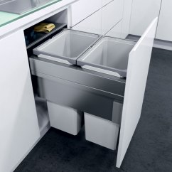 Wall Cabinet Sizes For Kitchen Cabinets Miami Oeko Xxliner Waste Bin System