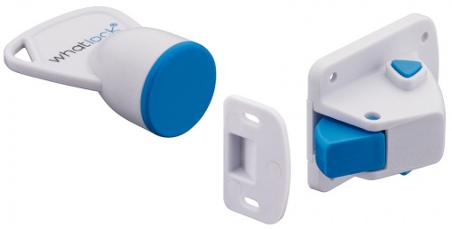 Invisible Magnetic Lock White